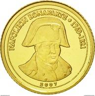 Congo 2007 France Napoleon Bonaparte 1500 Francs Or Gold 0.999 Poid 0g50 / SOUS BLISTER - Congo (Republic 1960)