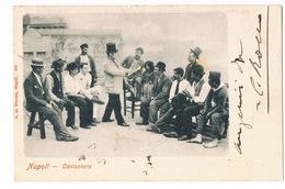 Cartolina - Postcard / Viaggiata - Sent / Napoli - Cantastorie - Costumi