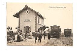 Verneuil ( Marne)- La Gare. Edition Renard. - Autres Communes