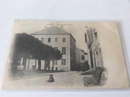 54 - NOMENY Hôtel De Ville Mairie Animée écrite Timbrée - Nomeny