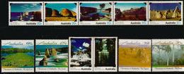 Paysages Fameux Australiens .  11 Timbres Neufs ** - 1990-99 Elizabeth II