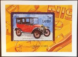 Gambia 1996 Cars Minisheet MNH - Gambia (1965-...)