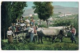Cartolina - Postcard / Viaggiata - Sent / Costumi Napoletani - Contadini - Costumes