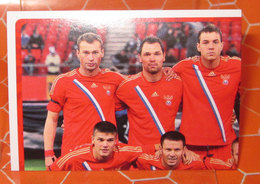 EURO2012 PANINI N. 109  STICKER NEW CON VELINA - Panini