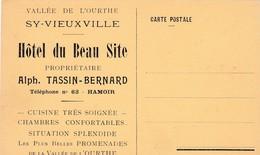 HAMOIR / CARTE POSTALE / HOTEL DU BEAU SITE A SY VIEUX VILLE - Hamoir