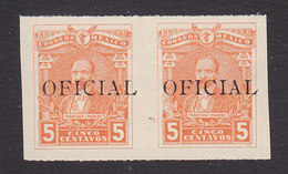 Mexico, Scott #O90, Mint Hinged, Regular Issue Overprinted, Issued 1915 - Mexico