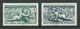 FRANCE 1952 . N°s 937 Et 938 . Oblitérés . - France