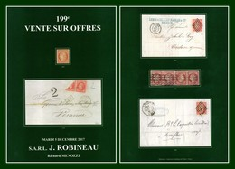 Catalogue 199éme Vente Sur Offres Robineau 2017 TB (comme Neuf) - Catalogues For Auction Houses