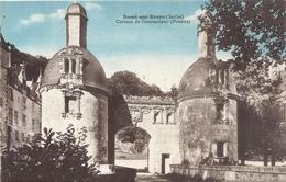 BESSE-SUR-BRAYE . CHATEAU DE COURTANVAUX ( POTERNE ) . CARTE COLORISEE NON ECRITE - France