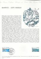 DOCUMENT OFFICIEL 34/76 BIARRITZ - COTE 2009 = 6.00 € - Documents De La Poste