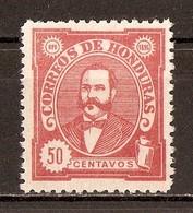 1896 - Président Celio Arias 50c. Rose - N°82 (neuf Sans Gomme) - Honduras