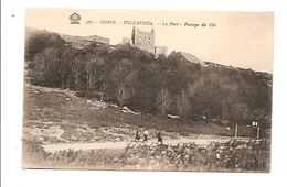 Corse Vizzavona. Le Fort- Passage Du Col. Edit. ??? N° 367 - France