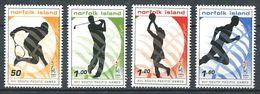 238 NORFOLK 2007 - Yvert 929/32 - Sport Tennis Golf Netball Course - Neuf **(MNH) Sans Trace De Charniere - Ile Norfolk