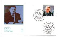 ALLEMAGNE RFA 1995 FRANZ JOSEF STRAUSS - Celebrità