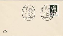 LUXEMBURG 1963 - MiNr: 666 Beleg Mit SStmp. Feulen - Luxemburg