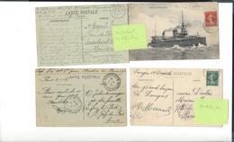 CACHETS MILITARIA Mobilisation  Prisonniers Mutilés  , ... ( 11 Cp Ou  Enveloppes ) - Marcophilie (Lettres)