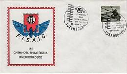 LUXEMBURG 1964 - MiNr: 403 Beleg Mit SStmp. Stahlkongreß - Luxemburg