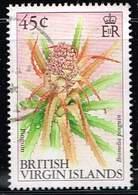 Jungferninseln 1991, Michel# 772x O     Flowers: Pinguin - British Virgin Islands