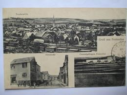 CPA Allemagne - Gruss Aus FREIENDIEZ - Vues Multiples - 1919 - TBE - Diez