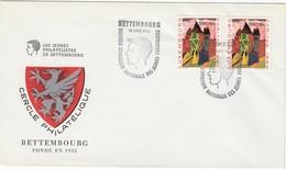 LUXEMBURG 1965 - MiNr: 2 X 703 Beleg Mit SStmp. Bettembourg - Luxemburg