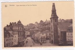 """VERVIERS """" Vues De L'église Notre-Dame """" Pas Circulée 1936   Voir Scans  RARE ! - Verviers"""