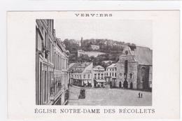 """VERVIERS """" Vues De L'église Notre-Dame """" Pas Circulée 1900   Voir Scans  RARE ! - Verviers"""