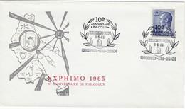 LUXEMBURG 1965 - MiNr: 711 Beleg Mit SStmp. Exphimo - Luxemburg