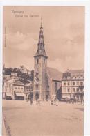 """VERVIERS """" Vues De L'église Notre-Dame Des Récollets """" Pas Circulée 1930   Voir Scans  RARE ! - Verviers"""