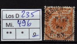 Los D235: 49b, Gest. - Deutschland