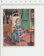 Silhouettenzeichner / Thème Artiste Peintre Silhouette Ombre Chinoise 39/29 - Chromos