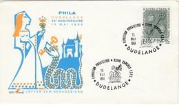 LUXEMBURG 1966 - MiNr: 729 Beleg Mit SStmp. Phila Dudelange - Luxemburg