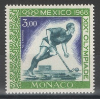 Monaco - YT PA 92 ** - Hockey - JO Mexico 1968 - Hockey (sur Gazon)
