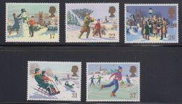 Great Britain 1990 Christmas 5v ** Mnh (40944E) - 1952-.... (Elizabeth II)