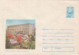 HEALTH, MEDICINE, CEHU SILVANIEI TOWN POLICLINIC, COVER STATIONERY, ENTIER POSTAL, 1981, ROMANIA - Medicina