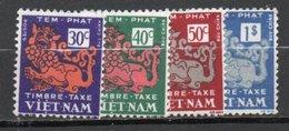 Viet-nam  Taxe 6,8,9,11  ** - Vietnam
