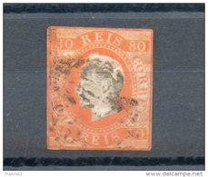 Portugal. 80 Reis Orange. 2e Choix - 1855-1858 : D.Pedro V