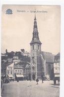 """VERVIERS """" Vues De L'église Notre-Dame Des Récollets """"  Circulée 1905   Voir Scans  RARE ! - Verviers"""