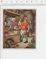 Auberge Cuisine Rôtisserie Poulet Rôtissoire Soufflet De Cheminée Ancien  39/29 - Chromos