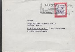 30201. Carta HOHENEMS (Austria) 1982. Nibelungenliedes. Cancion De Los Nobelungos. Musik - Cartas