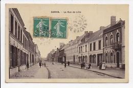 CPA 62 CARVIN La Rue De Lille - Autres Communes