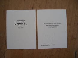 Carte Chanel Gardenia - Perfume Cards