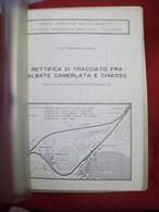 RETTIFICA TRACCIATO TRA ALBATE CAMERLATA (COMO) E CHIASSO Ferrovie Treni - Motori