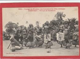 CPA: Dahomey - Voyage Du Ministre Des Colonies - Groupe De Danseurs (Fortier N°2641) - Dahomey