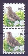 BELGIE * Buzin * Nr 2920 * Postfris Xx * HELDER FLUOR  PAPIER - 1985-.. Birds (Buzin)