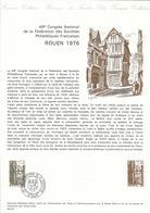 DOCUMENT OFFICIEL 9/76 ROUEN - COTE 2009 = 6.00 € - Documents De La Poste