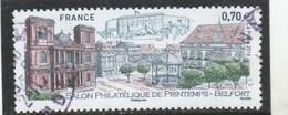 FRANCE 2016 SALON PHILATELIQUE DE PRINTEMPS BELFORT OBLITERE - YT 5041 - France