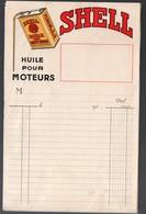 Facturette  SHELL Huile Pour Moteurs    (PPP9506) - Cars