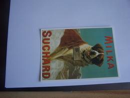 Reproduction Affiche Chocolat Suchard Milka - Edit L'avion Postal - Reclame