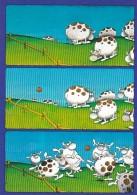 1954494Voetballende Koeien. Guillermo Mordillo. - Humour