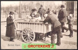 BERLIN Berliner Typen Vanille- Und Himbeereis 1908 - Duitsland